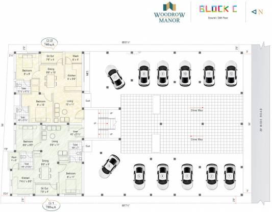 Sekaran Woodrow Manor Cluster Plan