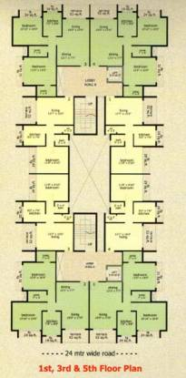 Prathamesh Residency Cluster Plan