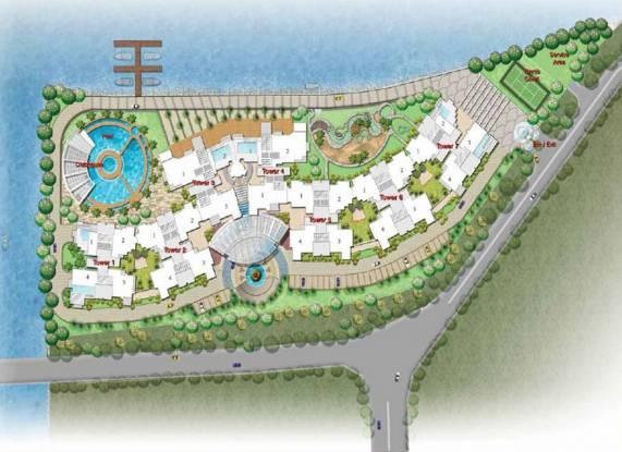 Prestige Neptunes Courtyard Layout Plan