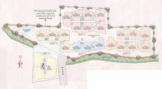 Chitrakut Century Site Plan