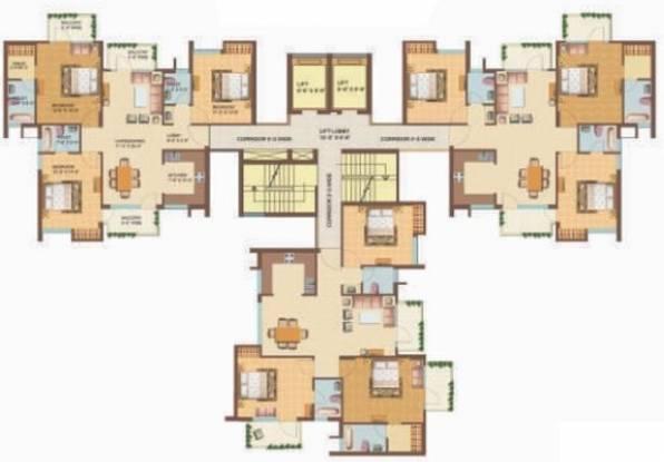 Omaxe Hills 2 Cluster Plan