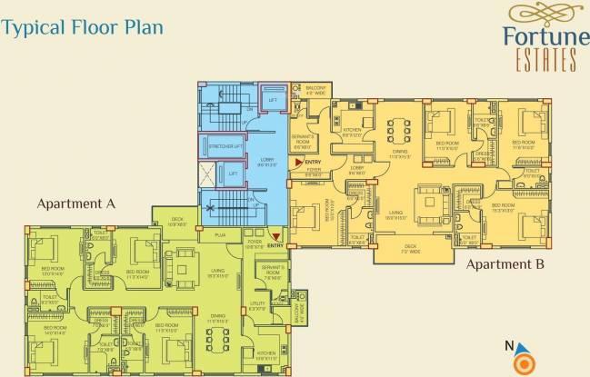 Fortune Estate Cluster Plan