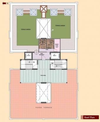 Sashwaat Mandeville Garden Court 3 Cluster Plan