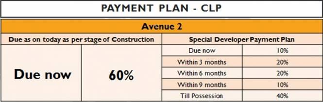 Sunteck City Avenue 2 Payment Plan