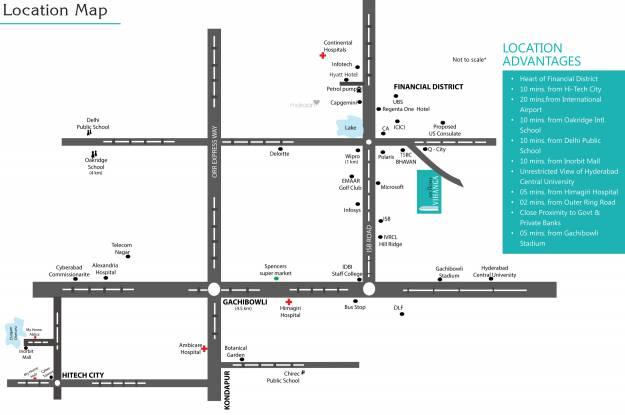 My Home Vihanga Location Plan
