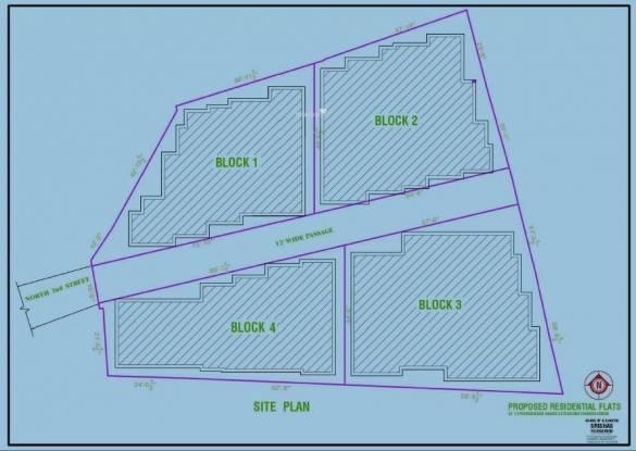 Srishas Aditi Paradise Site Plan