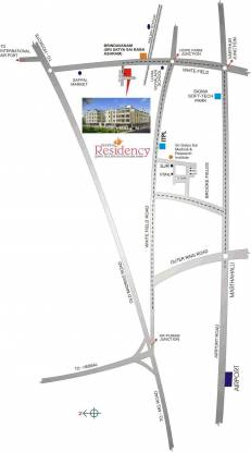 Keerthi Residency Location Plan
