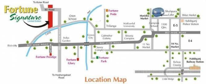 Fortune Signature Location Plan