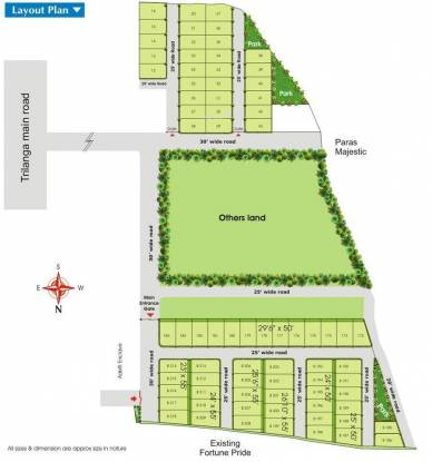 Fortune Pride Extension Layout Plan