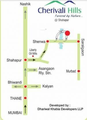 Dhariwal Cherivali Hills Location Plan