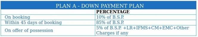Wall Rock Aishwaryam Payment Plan