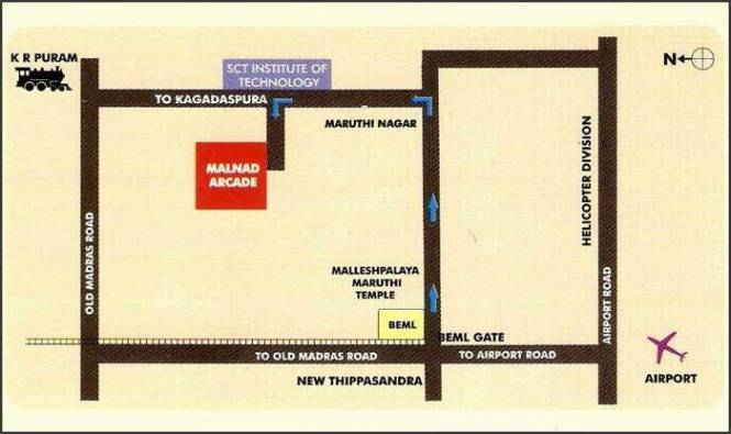 Malnad Arcade Location Plan