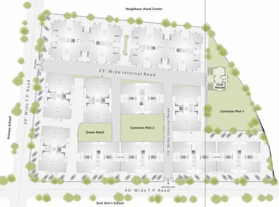Dharmadev Neelkanth Orchid Layout Plan