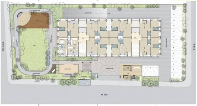 Samved Alpine Heights Layout Plan