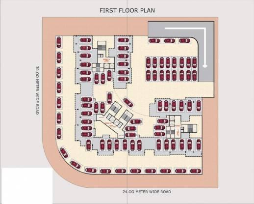 Bhagwati Sky Oasis Cluster Plan