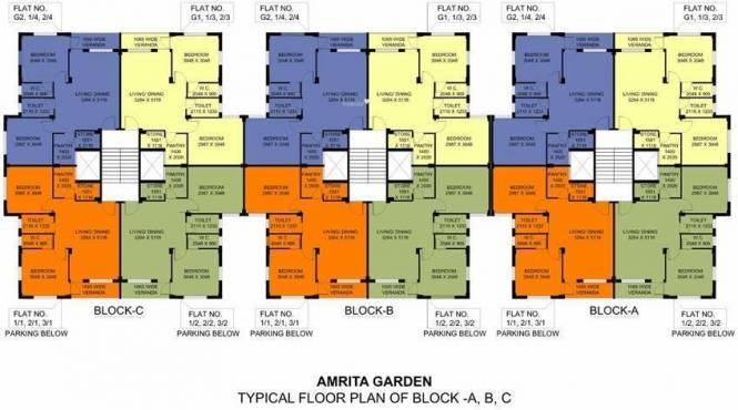 BGA Amrita Garden Cluster Plan