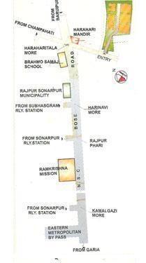 BGA Amrita Garden Location Plan