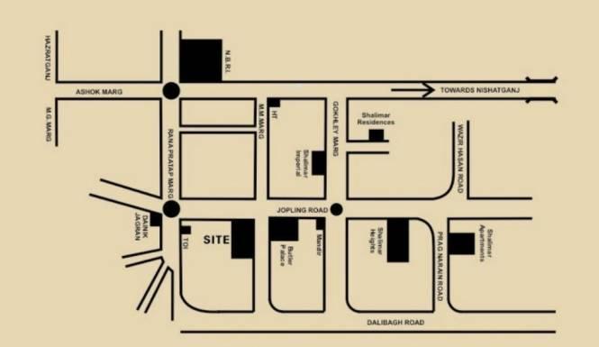 Shalimar Emerald Location Plan