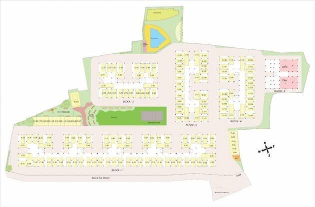 Jupiter Airport Residency Cluster Plan