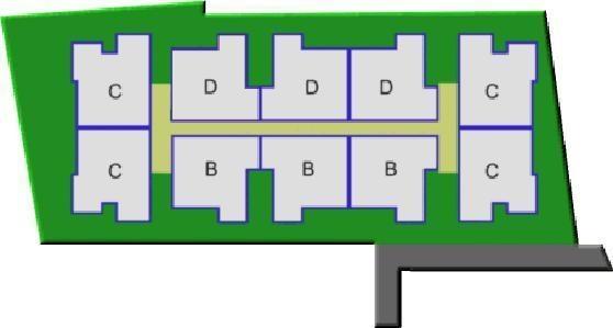 mansion Single Tower Cluster Plan