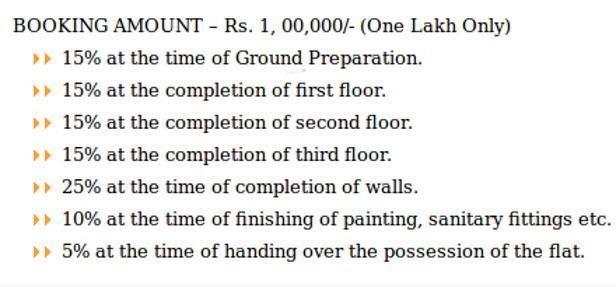 mansion Images for Payment Plan of Sakshi Mansion