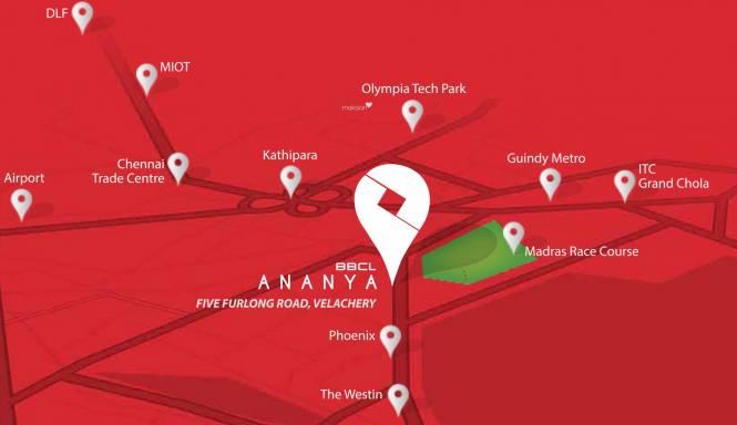 BBCL Ananya Location Plan
