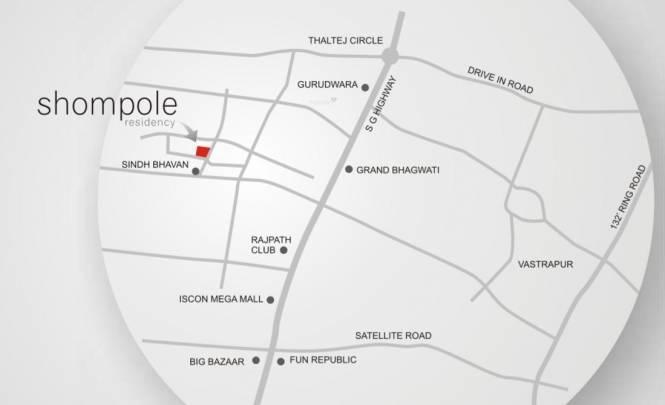 Sandesh Shompole Location Plan