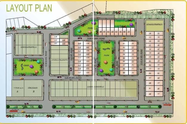 Apex Royal Castle Layout Plan