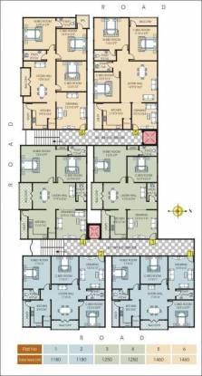 Jaya Bharathi Sagar Heights Cluster Plan