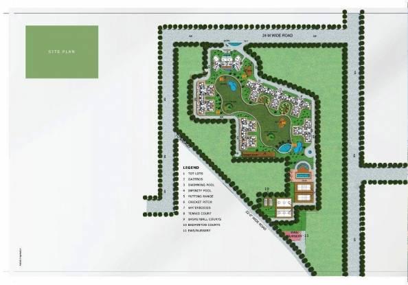 BPTP Park Arena Site Plan