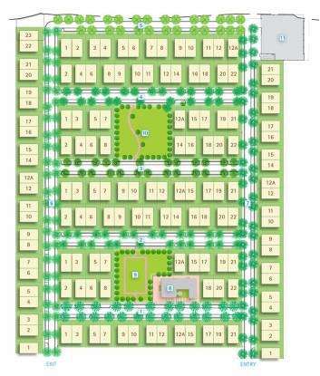 Vatika Urban Woods Site Plan