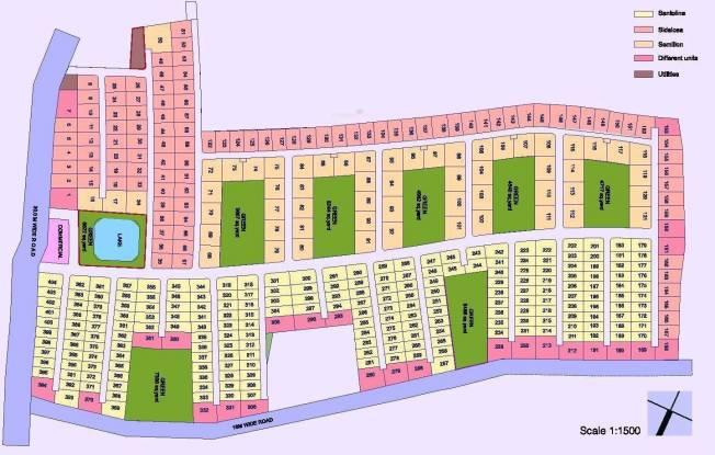 Applewoods Santolina Layout Plan