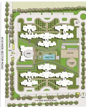 BPTP The Resort Site Plan