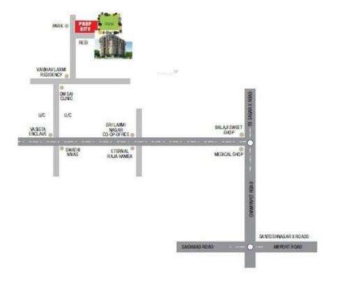Eternal Raaga Location Plan