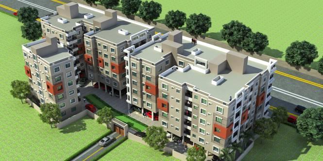 Loharuka Green Residency Elevation