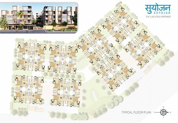 Ganesh Suyojan Layout Plan
