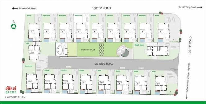 Sangath Saundrya Green Site Plan