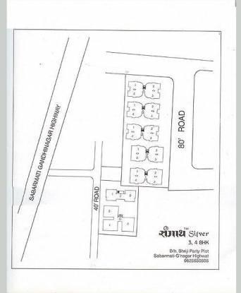 Sangath Silver ABCD Site Plan