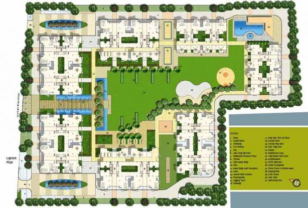 parisar-ii Images for Layout Plan of Safal Realty Parisar II
