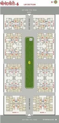 Mahadev Sri Nand City 6 Layout Plan