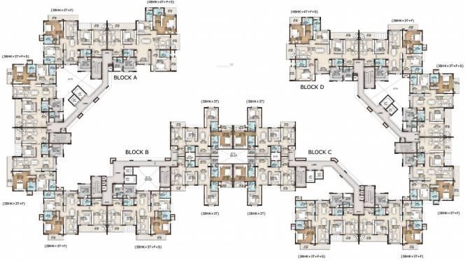 Vajram Tiara Cluster Plan