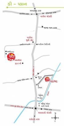 DBS Umang Narol 1 and 2 Location Plan