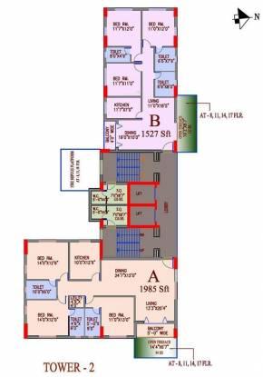 Alcove Regency Cluster Plan