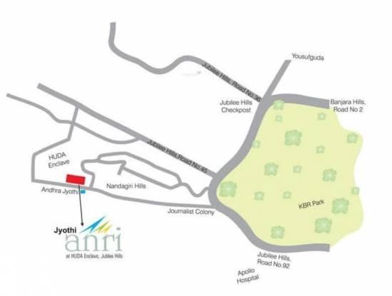 Vamsiram Jyothi Anri Location Plan