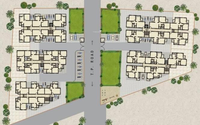 Shayona Residency Site Plan