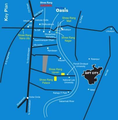 Shree Rang Shree Rang Oasis Location Plan