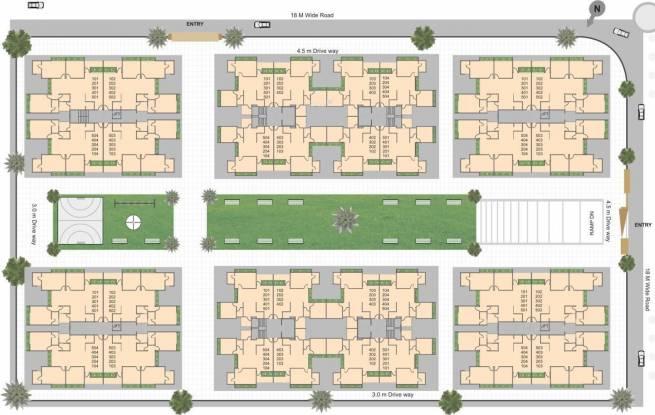 Shree Rang Shree Rang Oasis Site Plan