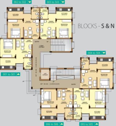 Acropolis Cluster Plan