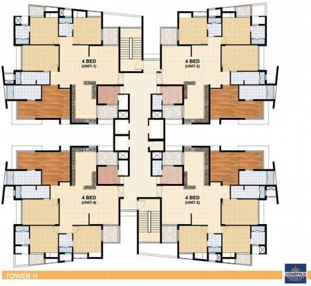 Assotech The Cosmopolis Cluster Plan