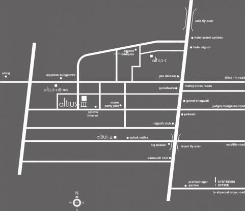 Synthesis Altius III Location Plan